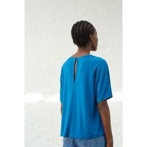 ADAGIO blue - Short sleeves jersey T-shirt