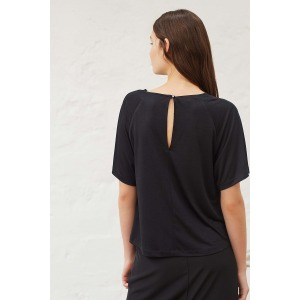 ADAGIO black - Short sleeves jersey T-shirt