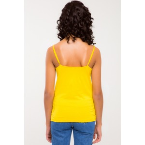 ORION tank top in yellow