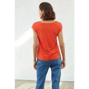 OPUS rouge - T-shirt manches courtes