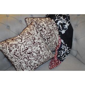 NELLA Leopard print cushion cover