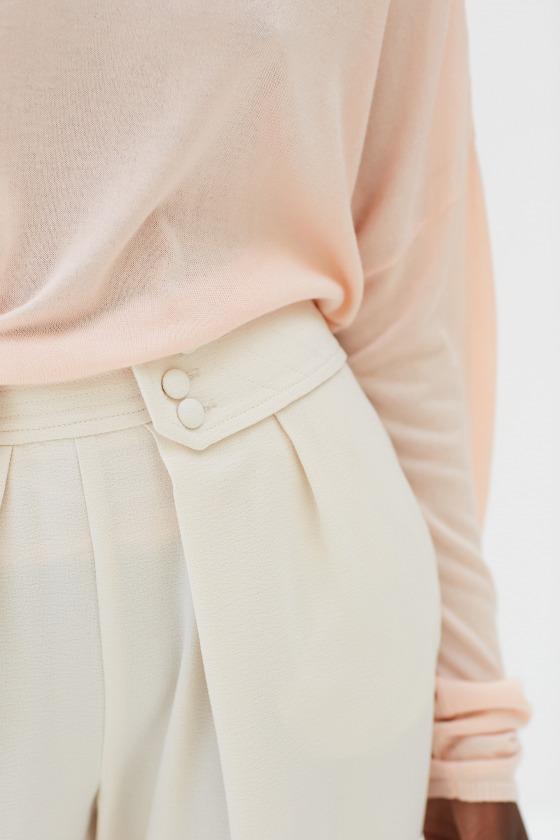 Waist trousers LEZARD beige