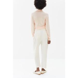 Pantalon taille marquée LEZARD beige