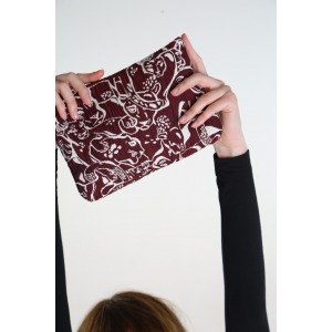 NAEN BEAUTY BAG PANTHER RED