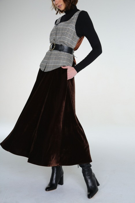 Skirt - ARMAGH Brown