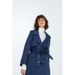 YOUNG - Trench en coton