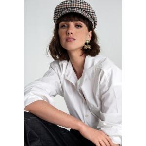 Cotton pima shirt BRUANT white