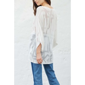 JOANE white - Sweater