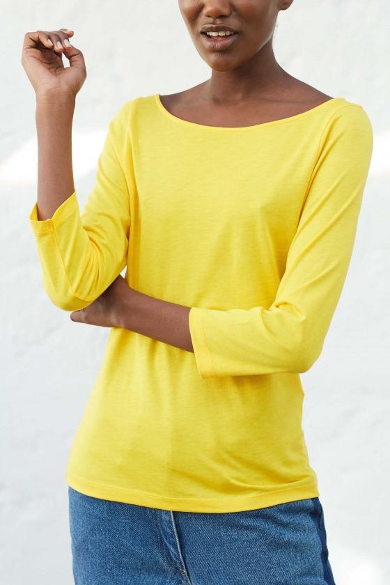 OLAF yellow - 3/4 sleeves T-shirt