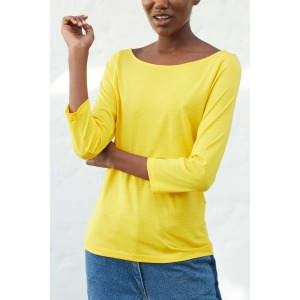 OLAF yellow - 3/4 sleeves T-shirt