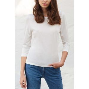 OLAF white - 3/4 sleeves T-shirt