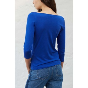 OLAF electric blue - 3/4 sleeves T-shirt