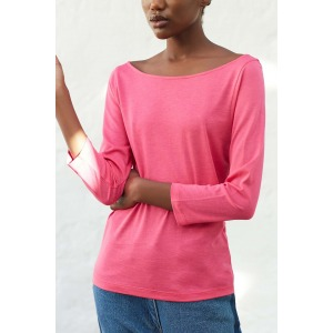 OLAF pink - 3/4 sleeves T-shirt