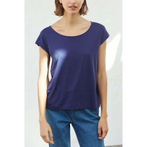OPUS bleu marine - T-shirt manches courtes