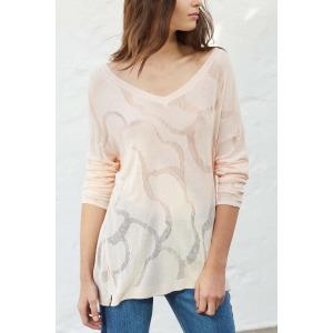 TAO - Long sleeves fine knit sweater