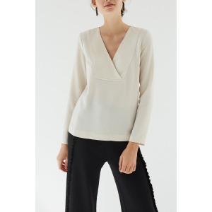 LIS beige - Long sleeves top