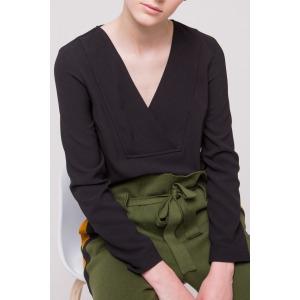 LIS black - Long sleeves top