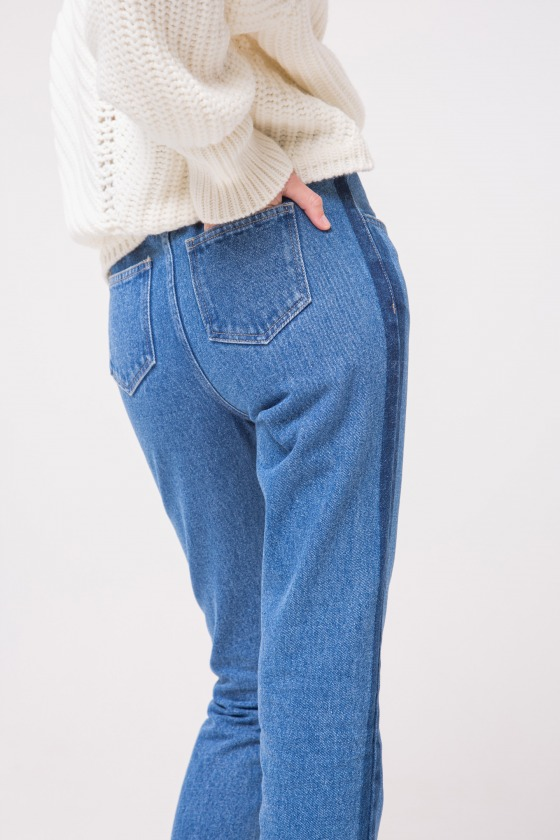 MORSE hight waist straight fit jeans
