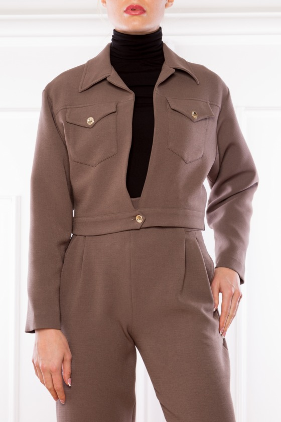 BROWN JACKET BARRY