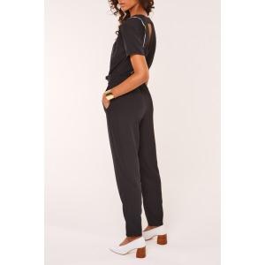 ALLIOT - Pantalon taille haute ceinturé