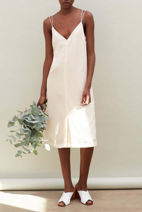 KORA - Silk slip dress