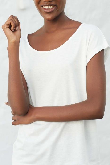 OPUS white - short sleeves T-shirt