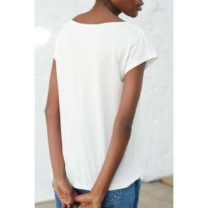 OPUS blanc - T-shirt manches courtes