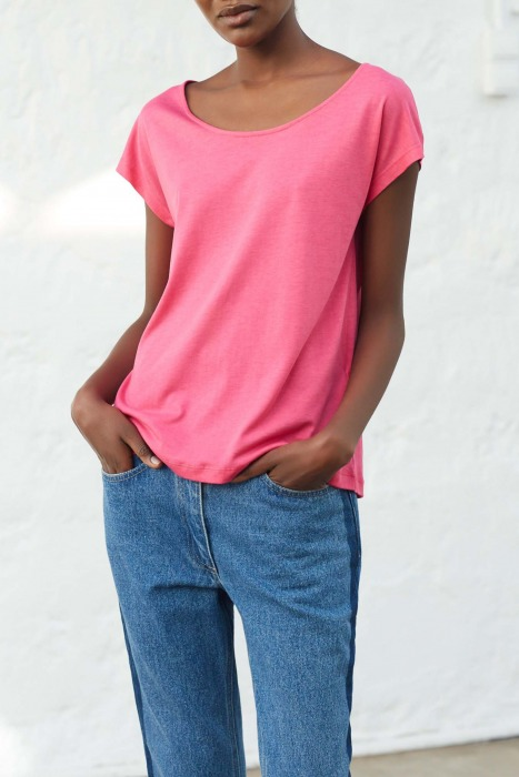 OPUS rose - T-shirt manches courtes