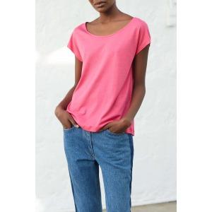 OPUS pink - short sleeves t-shirt