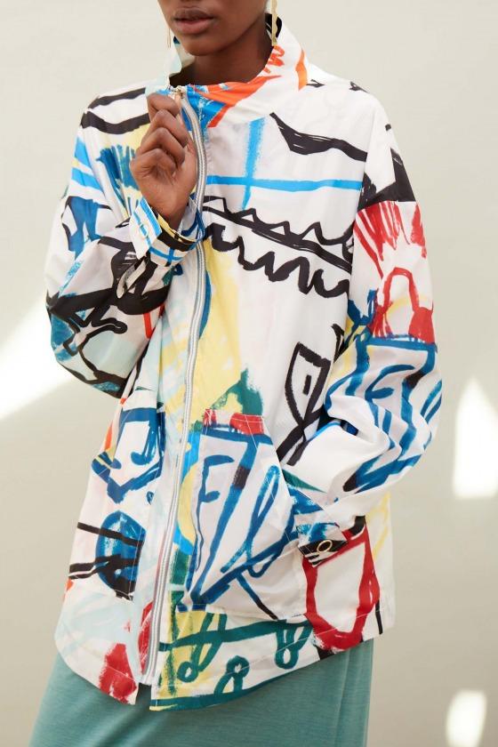 Erwan Veste Basquiat