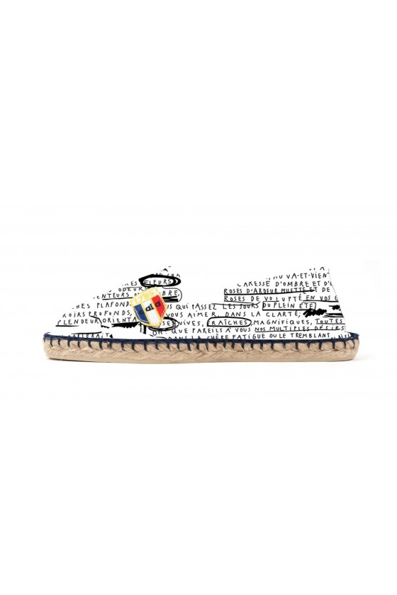 Espadrilles in printed canvas DORIS