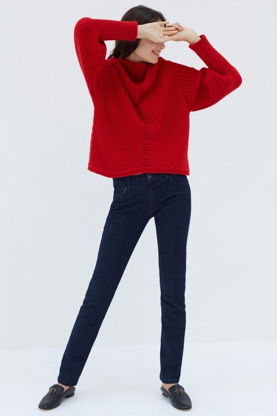 FERRERI brut - Jeans forme droite