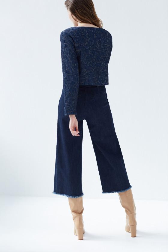 ba9dcf8b9693f FINCHER brut - Jeans évasé taille haute