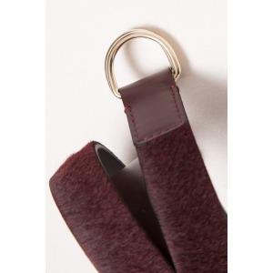 INDY bordeaux - Leather belt