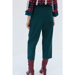 VERNEUIL vert - Pantalon en laine