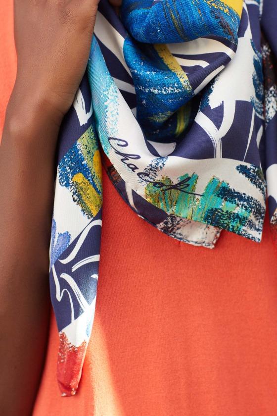 ELEVEN - silk scarf