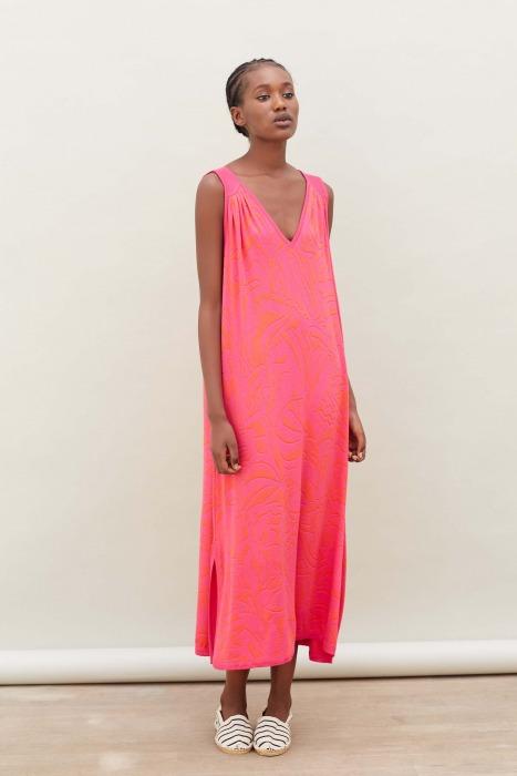 ERKO pink - ultra-soft dress
