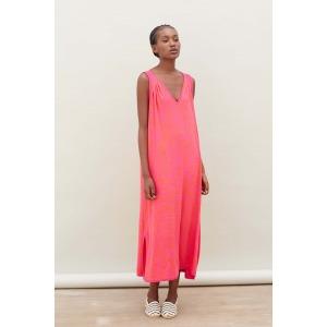 ERKO rose - Robe en maille à motif ultra-doux