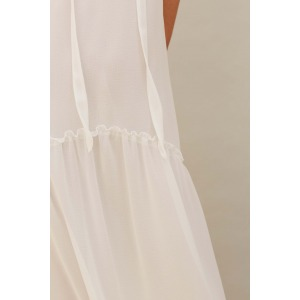 HARDY white - boho dress