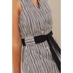 JAZZ - striped dress