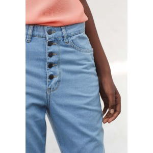 ELFE - Jeans 7/8 taille haute