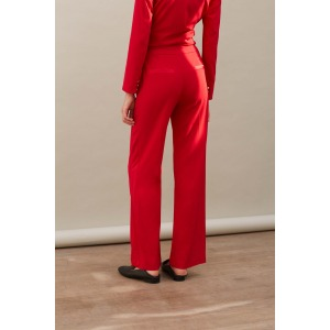 HORIZON red - Tuxedo trousers
