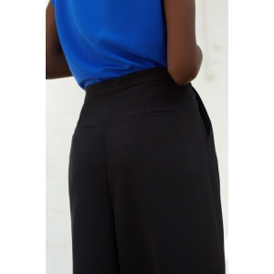 LARY black - Trousers