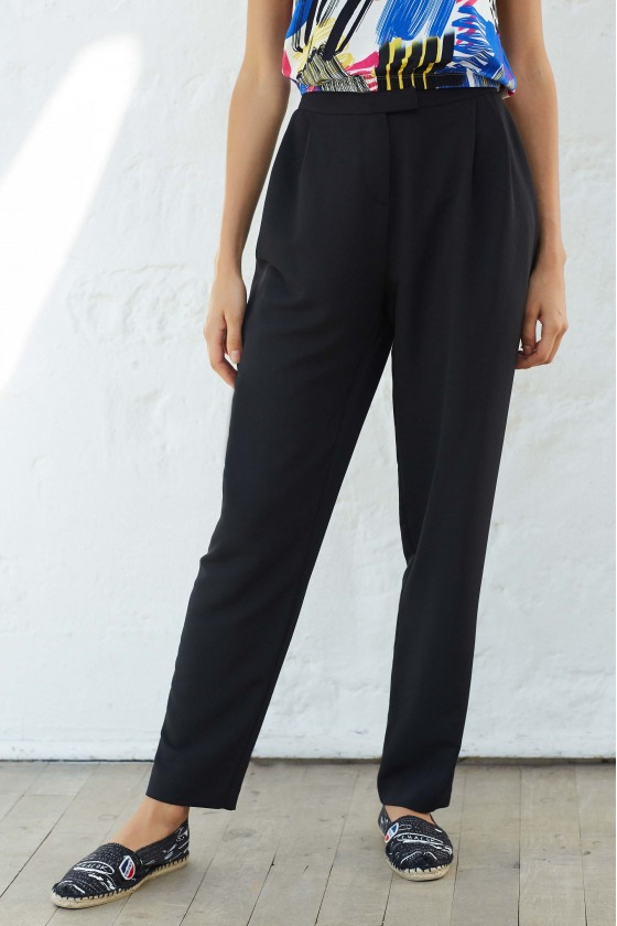 LOOPS black - Trousers