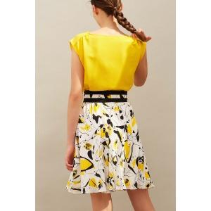 ALOES - printed skirt