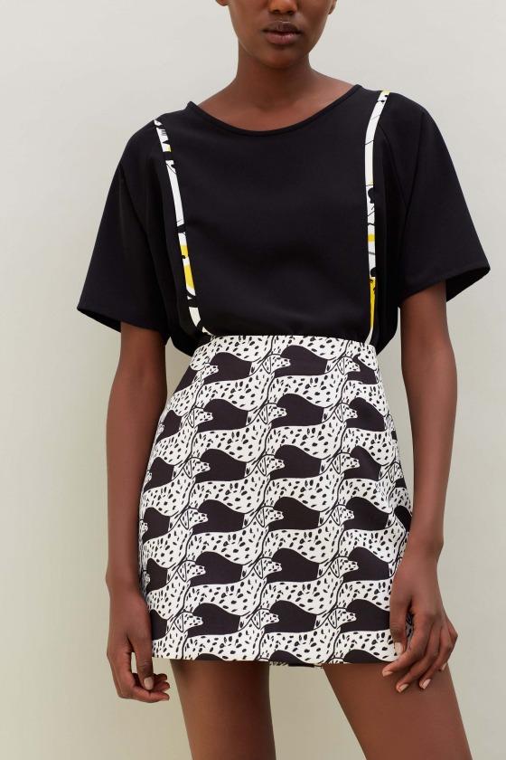 IDAE - Printed skirt