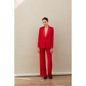 HARMONIE red - Tuxedo jacket