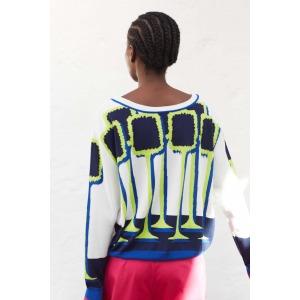 CARLA - Intarsia sweater