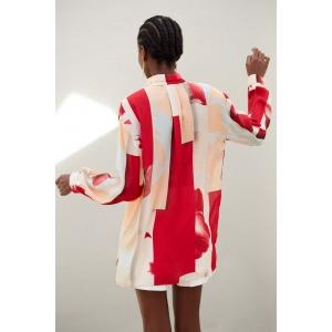 GRENADINE - Printed silk shirt