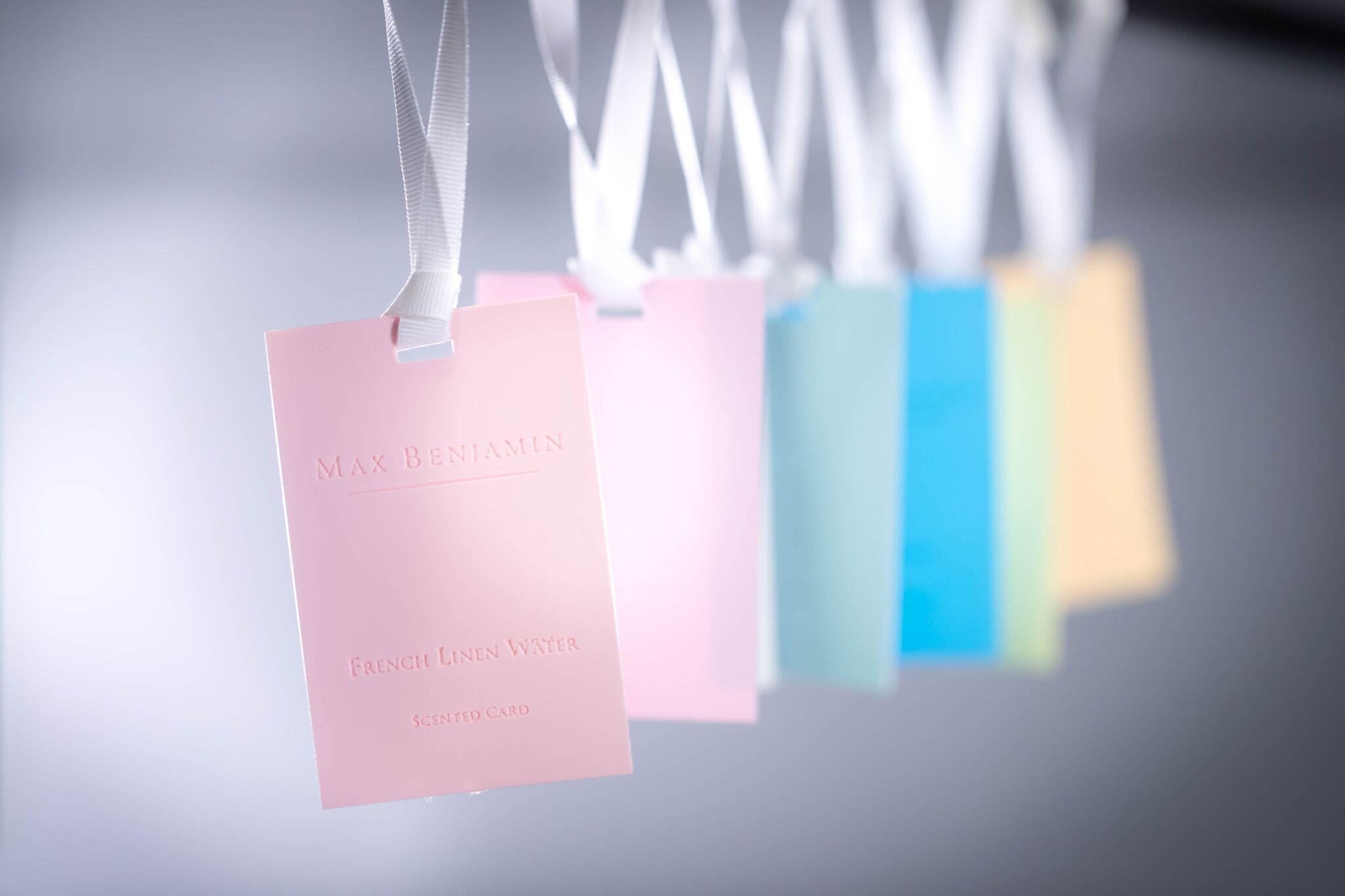 max benjamin cartes parfumées